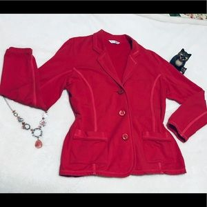 2 for $25 Coral Jacket by Fresh Produce size XL